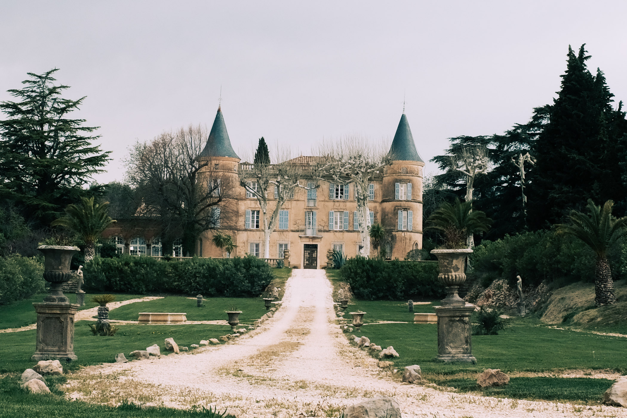 France countryside castle