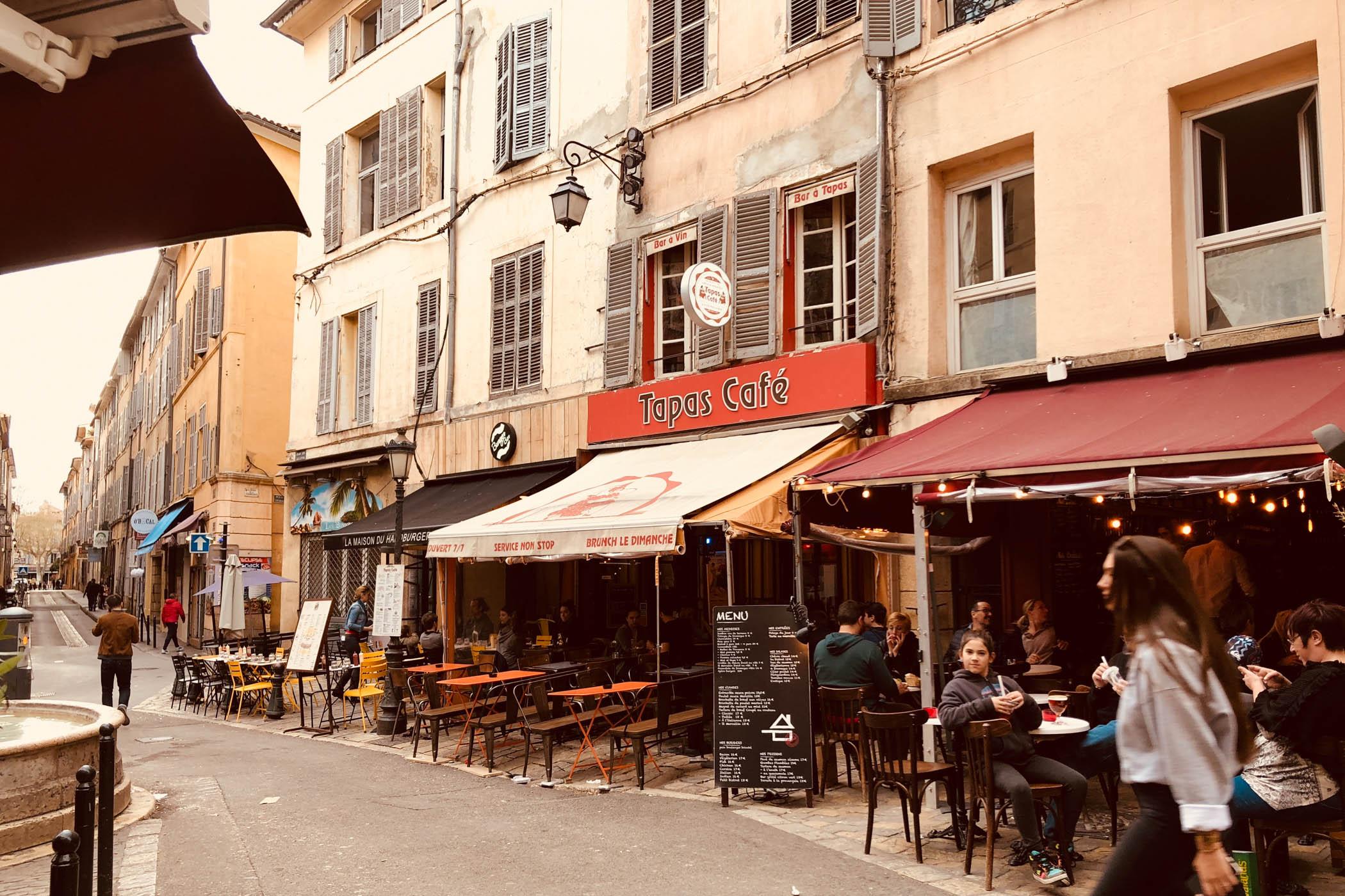 Aix-en-Provence centre