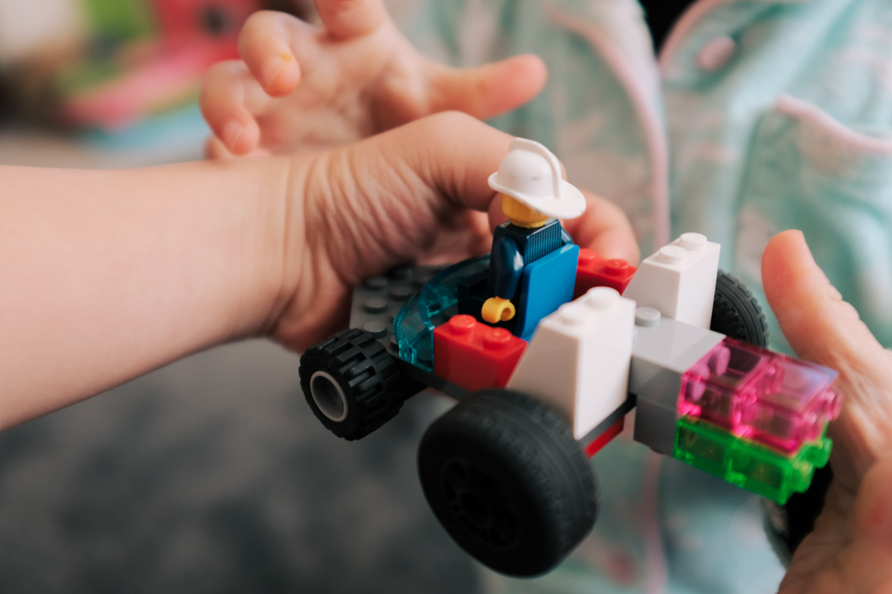 Lego vehicle