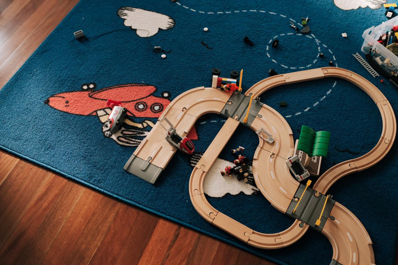Train and Lego
